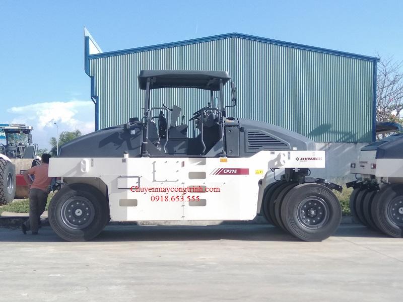 xe lu bánh lốp Dynapac CP275