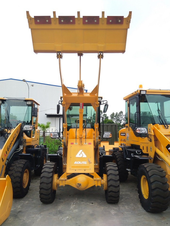 Máy xúc lật Aolite 912A gầu 0.5m3 - máy xúc lật mini giá rẻ