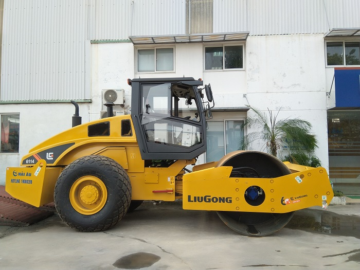 Xe lu rung LiuGong CLG6114 - SP bán chạy nhất !