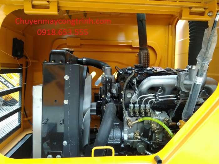 Máy xúc lật Aolite 916 gầu 6 tấc - xúc lật mini giá rẻ