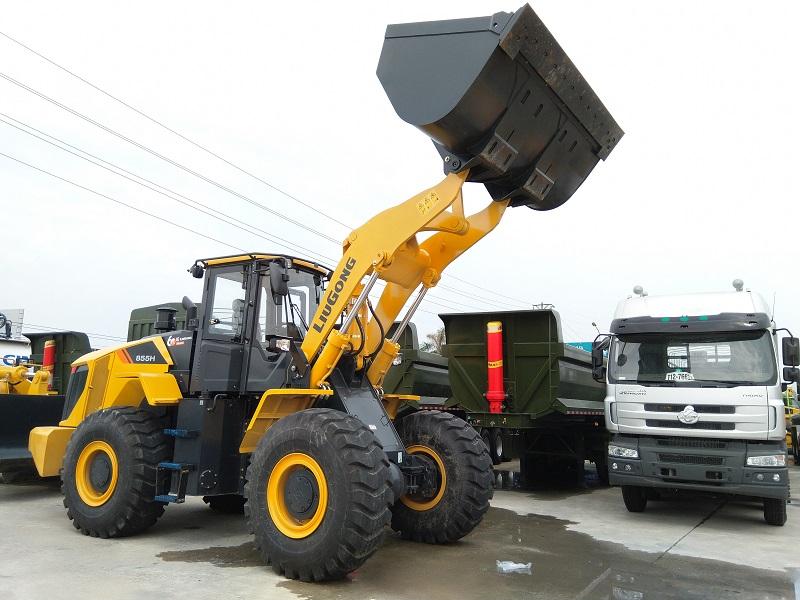 Xúc lật Liugong CLG855H gầu 3.3m3 - 3.7m3 phiên bản cao cấp