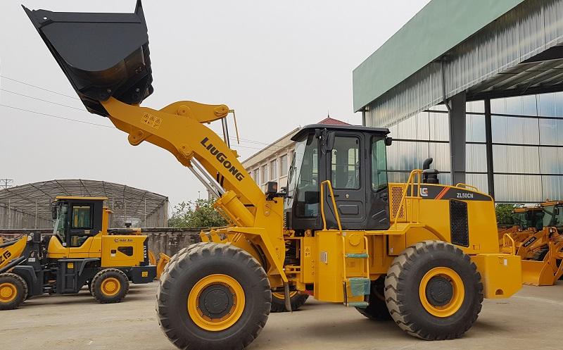 Máy xúc lật LiuGong ZL50CN gầu 3m3 - xúc lật chính hãng